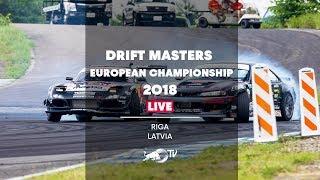 Download Drift Masters European Championship 2018 in Riga, Latvia - Qualifying LIVE Video