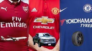 Download Premier League Kit Sponsors 2017/18 | What Do They Do? Video