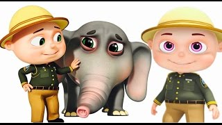 Download Zool Babies Forest Rangers Episode | Elephant Rescue | Funny Cartoon Animation For Children Video