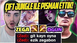 Download LUX MORGANA ÇİFT JUNGLE CHALLENGE! | OGÜN İLE TÜM TAKIMI PİŞMAN ETTİK | Zegabon Video