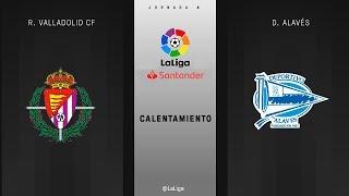 Download Calentamiento R. Valladolid vs D. Alavés Video