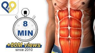 Download 8 Min Abs Workout how to have six pack Video