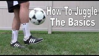 Download Soccer/Football Juggling Tutorial - The Basics Video