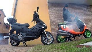 Download SVAPO KING - Gilera Runner 176cc & Piaggio Zip 172cc Video