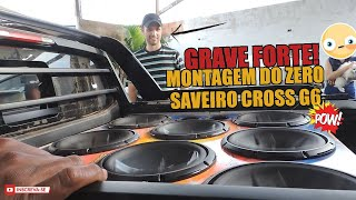 Download SAVEIRO G6 CROSS MONTAGEM DO SOM AUTOMOTIVO E TESTANDO OS GRAVES FORTE! Video