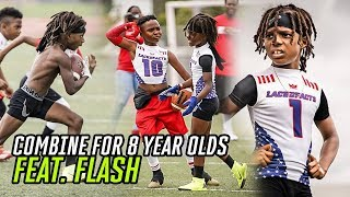 Download This 8 Year Old Football Combine Was INSANE! Flash Balls Out & Female Lineman DOMINATES The Boys! Video