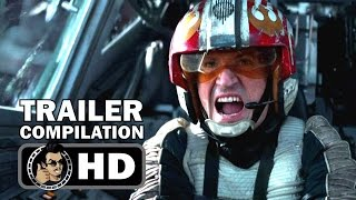 Download ROGUE ONE: A STAR WARS STORY - All Trailers Compilation (2016) Felicity Jones Sci-Fi Movie HD Video