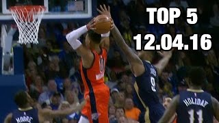 Download Top 5 Plays of the Night: 12.04.16 Video
