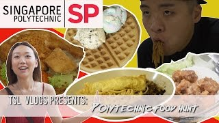 Download SEARCH FOR THE BEST POLY FOOD: SINGAPORE POLYTECHNIC | TSL Vlogs | EP 31 Video