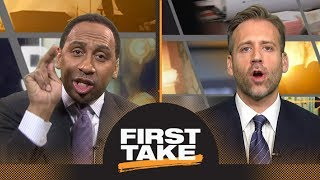 Download Stephen A. and Max fiercely debate Dwyane Wade's NBA legacy | First Take | ESPN Video