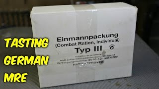Download Tasting German Military MRE (Meal Ready to Eat) Video