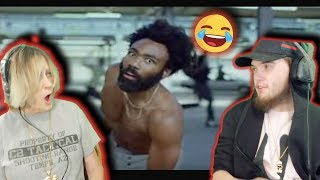 Download Grandma REACTS to Childish Gambino - This Is America ( FUNNY! ) Video