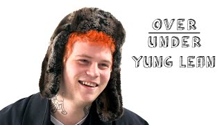 Download Yung Lean Rates IKEA, Skinny Dipping, and Elon Musk | Over/Under Video