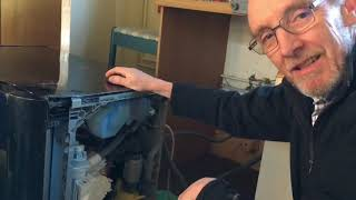 Download Smeg dishwasher error 6, water not draining Video