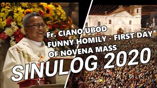 Download Fr. CIANO UBOD FUNNY HOMILY DURING THE FIRST NOVENA MASS OF SINULOG 2020 Video