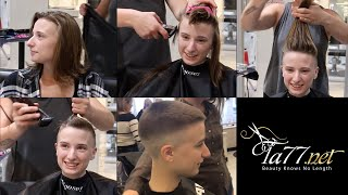 Download TA77 video trailer - Liz LV (2018) She Shaves Her Head Bald Video