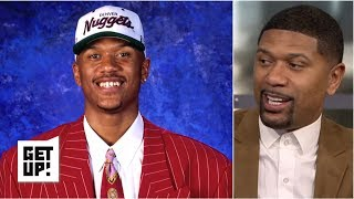 Download Jalen Rose reflects on being picked in the 1994 NBA draft   Get Up! Video