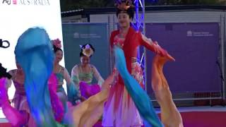 Download 2016 Chinese Lunar New Year Festival - Chinese Ribbon Dance from China at Darling Harbour Sydney Video