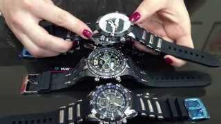 Download Обзор коллекции мужских часов Weide Video