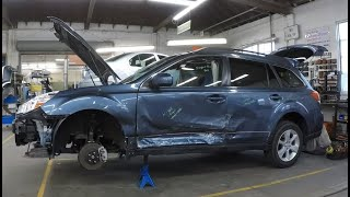 Download 2014 Subaru Outback Collision Repair Time Lapse Video