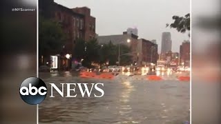 Download Severe storms cause flash floods throughout Northeast Video