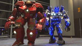 Download Hulkbuster v. Wheeljack at C2E2 2016 Video