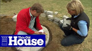 Download How to Build a Fire Pit - This Old House Video