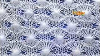 Download Cómo Tejer ENCAJE SUIZO - 2 agujas (503) Video