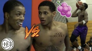 Download Jelly Fam 🍇 vs Mr.NYC! Isaiah Washington and Markquis Nowell INTENSE 1 on 1 Battle! PART 1 Video