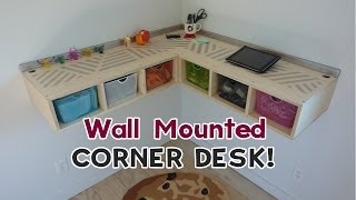 Download DIY Wall Mounted Stand Up Desk! Video