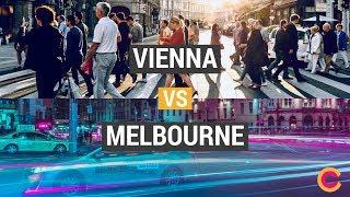 Download Public transport: Vienna vs Melbourne Video