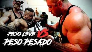 Download DESAFIO: PESO LEVE VS. PESO PESADO | QUEM LEVA A MELHOR? Video