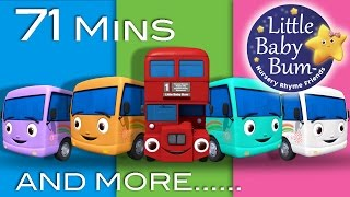 Download Little Baby Bum | 10 Little Buses | Nursery Rhymes for Babies | Videos for Kids Video
