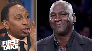 Download Michael Jordan didn't diss Steph Curry with HOF comments – Stephen A. | First Take Video