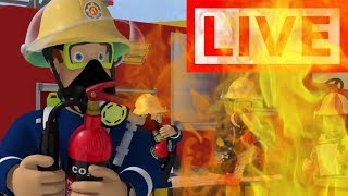 Download 🔴Fireman Sam LIVE 🔥All The best Adventures ! 🚒 Fireman Sam Collection 🚒 🔥 Kids Movies Video