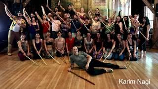 Download Saidi Raqs Assaya class with Karim Nagi (Egyptian Tahteeb stick dance) Video