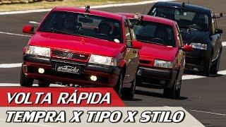 Download FIAT TEMPRA TURBO X TIPO SEDICIVALVOLE X STILO ABARTH - VR C/ RUBENS BARRICHELLO #85 | ACELERADOS Video