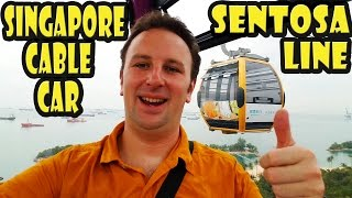 Download Singapore Cable Car Sentosa Line Video