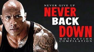 Download Best Motivational Speech Compilation EVER #6 - NEVER BACK DOWN - 30-Minute Motivation Video Video