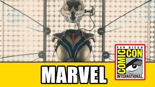 Download HUGE Captain Marvel & Ant-Man And The Wasp News - Marvel Comic Con 2017 Panel Video