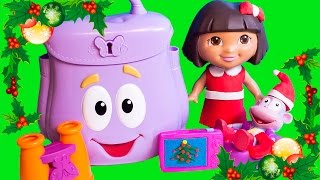 Download Play Doh Dora The Explorer Backpack Dora & Boots Christmas Season Dora La Exploradora Mochila Botas Video