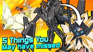 Download 5 Things You Probably Missed in The Pokemon Ultra Sun & Ultra Moon Announcement Trailer! Video