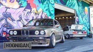 Download [HOONIGAN] DT 054: BMW E30 Custom Steering Wheel Install (Hert Burnout) Video