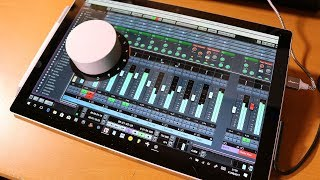 Download Surface Dial and Cubase Pro 9 - could that work? Video