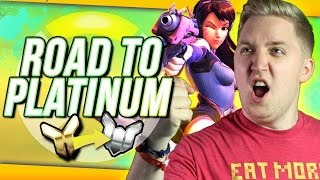 Download Overwatch Competitive: Road To Platinum #3 ″D.VAstating Plays!! Video