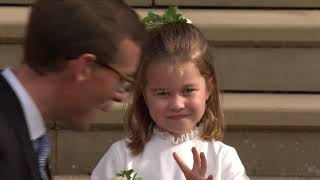 Download The Royal Wedding: The Royal Family depart St George's Chapel Video