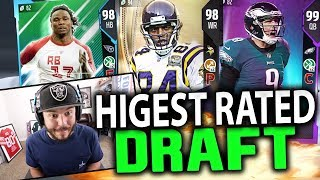 Download HIGHEST RATED DRAFT 91 OVERALL?? MADDEN 18 DRAFT CHAMPIONS Video