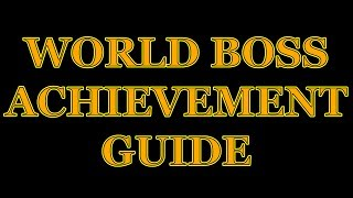 Download TERA World Boss Guide for Achievements Video