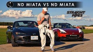 Download 2019 Mazda Miata vs MX-5 Cup Car   TheStraightPipes Included Video