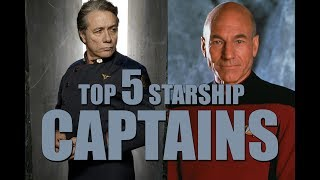 Download Top 5 Starship Captains Video